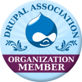 [badge: Drupal Association organization member]